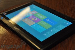 Windows 8 on Acer Iconia Tab W500